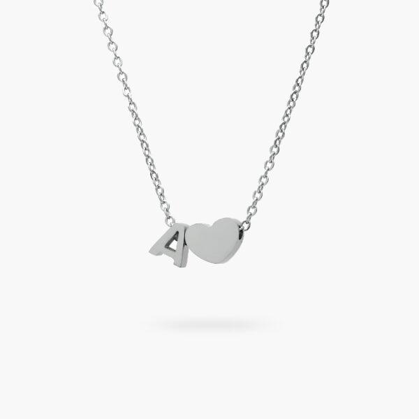 inicial-corazón-acero-29-plata-a