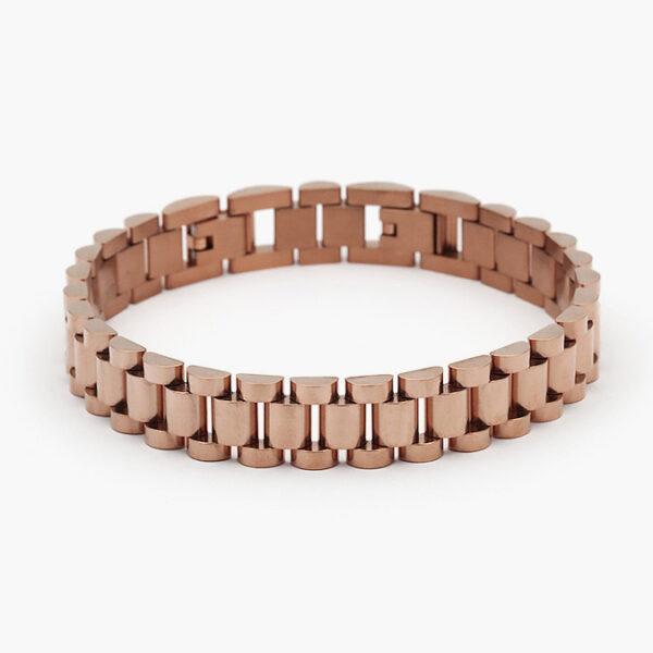 pulsera-acero-eslabones-134-rosa