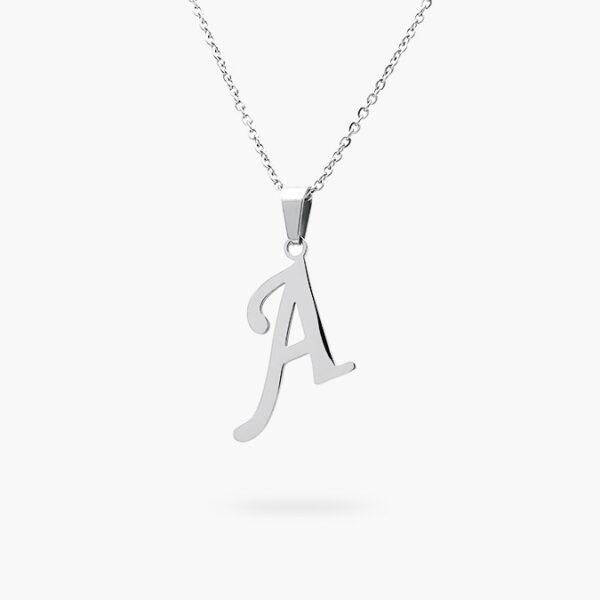 acero-dije-collar-51-plata-inicial-cursiva-a-valdivia-accesorios